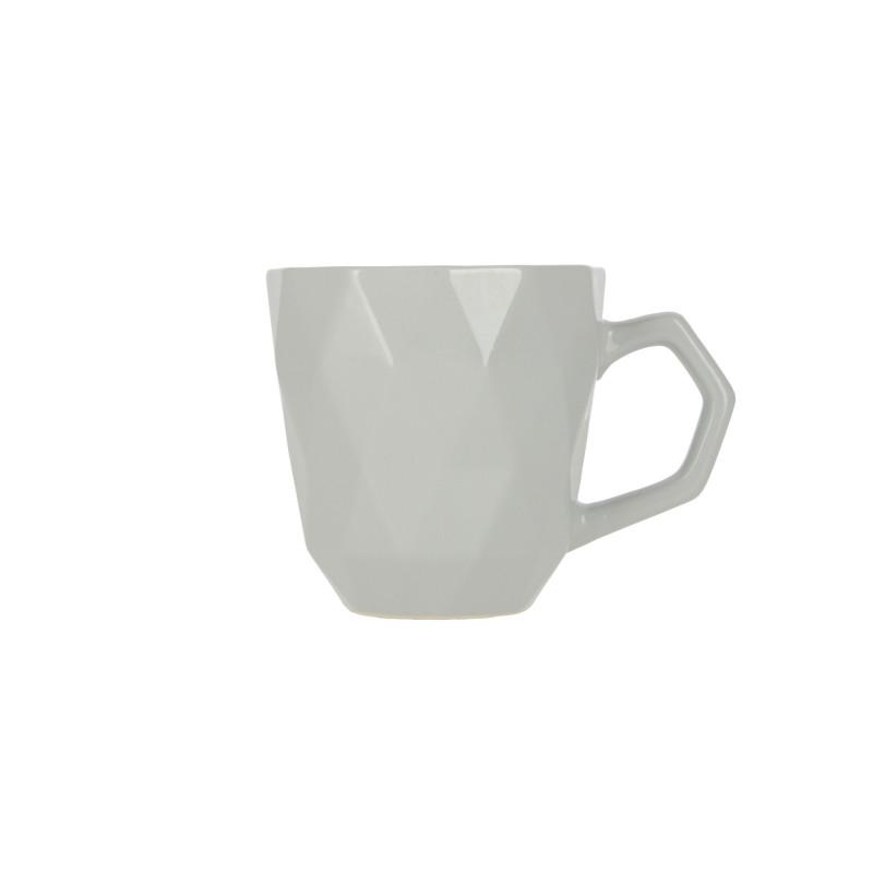 Ceramiczny kubek ADEL 380ml grey