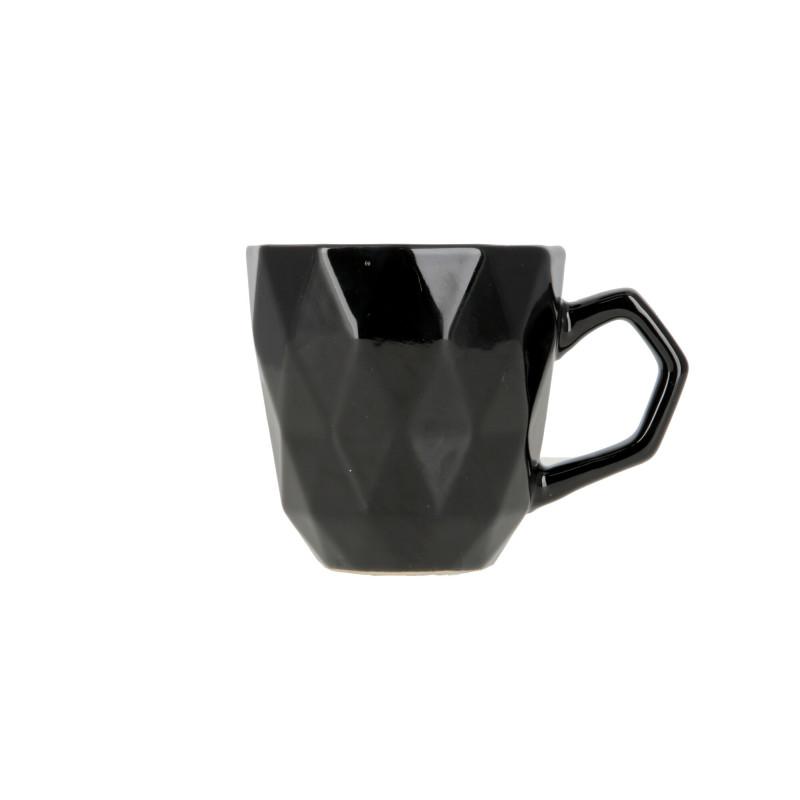 Ceramiczny kubek ADEL 380ml black