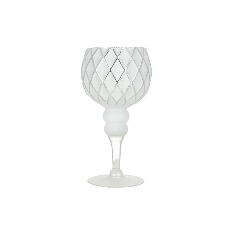 Ceramiczny świecznik DONNA 12,5x25cm