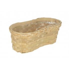 Wiklinowy koszyk Peanut 27,5x13x11cm