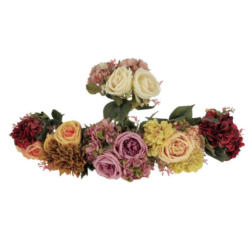 Kwiaty sztuczne bukeit piwonia