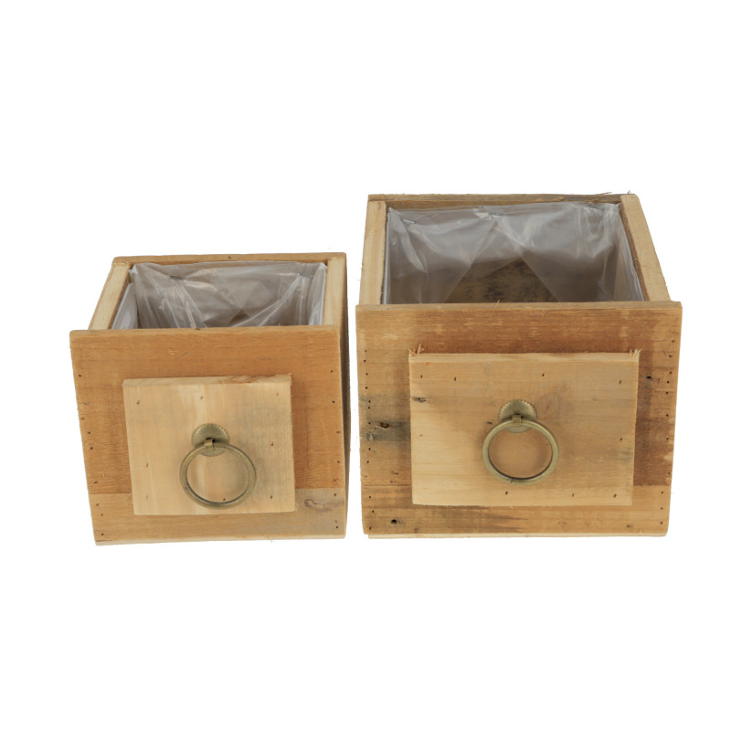 Drewniana osłonka szuflada