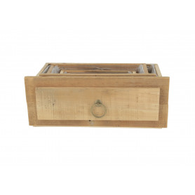 Drewniana osłonka szuflada kpl 3