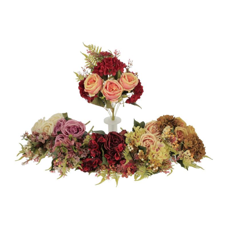 Kwiaty sztuczne kompozycja piwonhortens