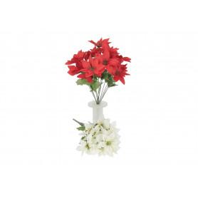 Kwiaty sztuczne gwiazda bukiet