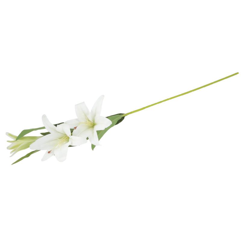 Kwiaty sztuczne lilia gałązka 86cm
