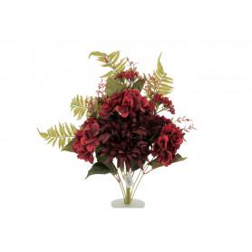 Kwiaty sztuczne kompozycja dalia hortens