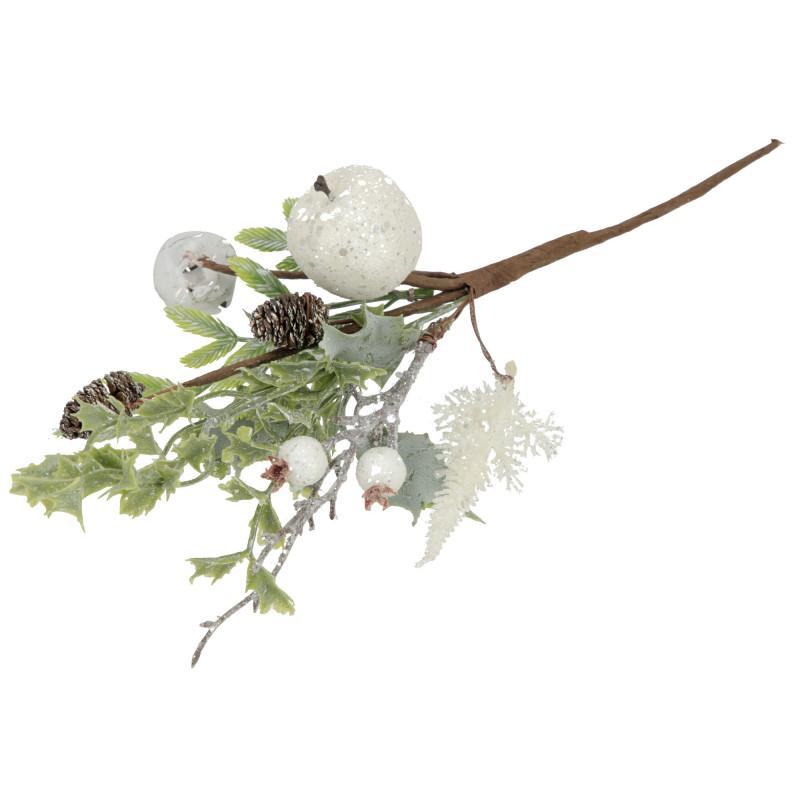 Kwiaty sztuczne gałązka jabłko