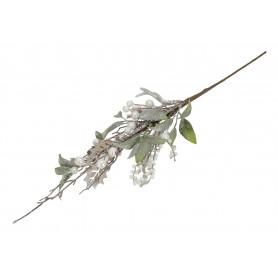 Kwiaty sztuczne gałązka zimowa kulki