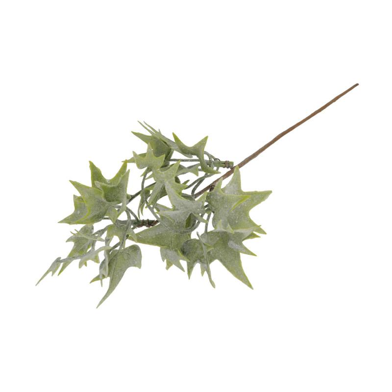 Kwiaty sztuczne gałązka z liścmi brokat