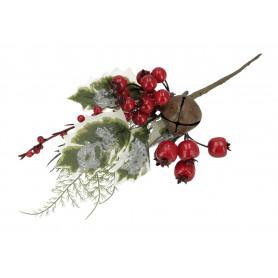 Kwiaty sztuczne gałązka kulki 30cm