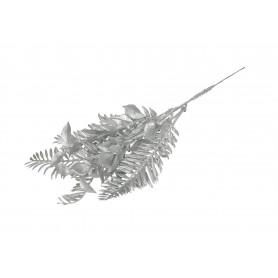 Kwiaty sztuczne gałązka brokatowa 20cm.