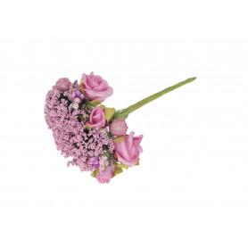 Kwiaty sztuczne: wiązka różyczek