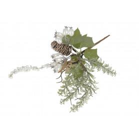 Kwiaty sztuczne gałązka głogu