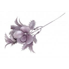 Kwiaty sztuczne gałązka brokatowa