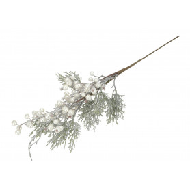 Kwiaty sztuczne gałązka z kulkami 60cm