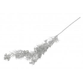 Kwiaty sztuczne gałązka brokat