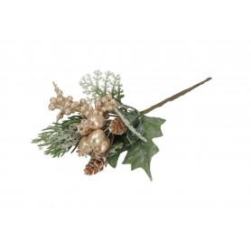 Kwiaty sztuczne gałązki głogi