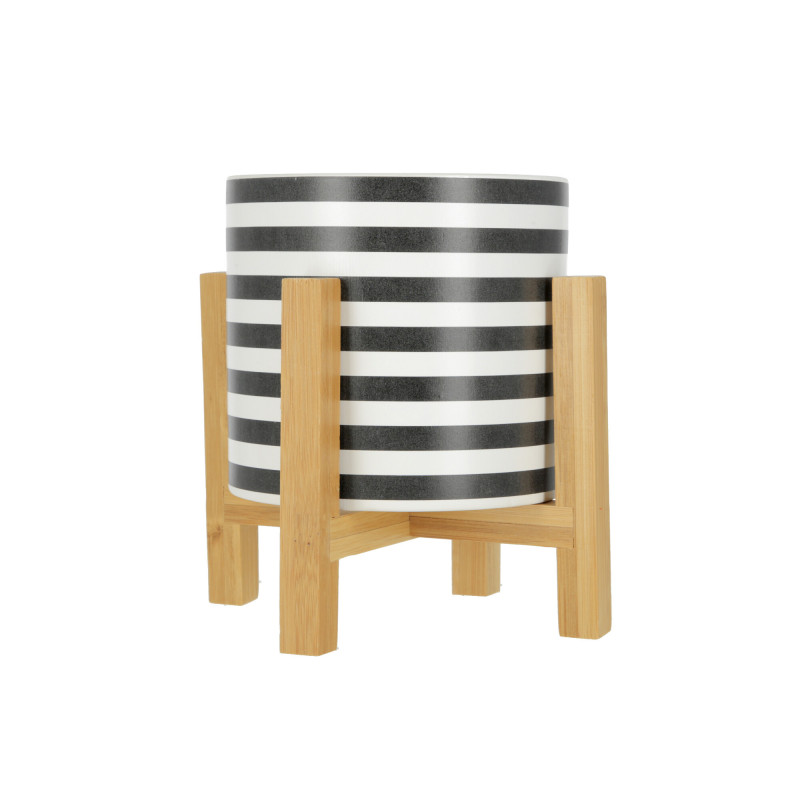 Ceramiczna AVA Doniczka 12,5x12,5xH:11,7