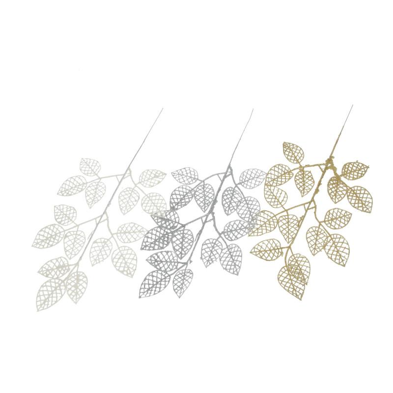 Kwiat sztuczny liście siatka