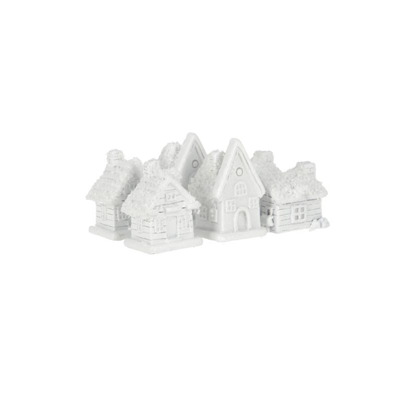 Tw.sztuczne domki przyklejka 6szt