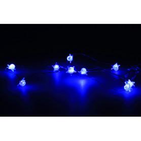 Bożonarodzeniowe lampki led 10L gwiazdki