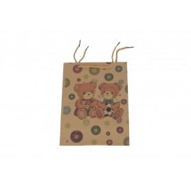 Papierowa torba Misie 12szt