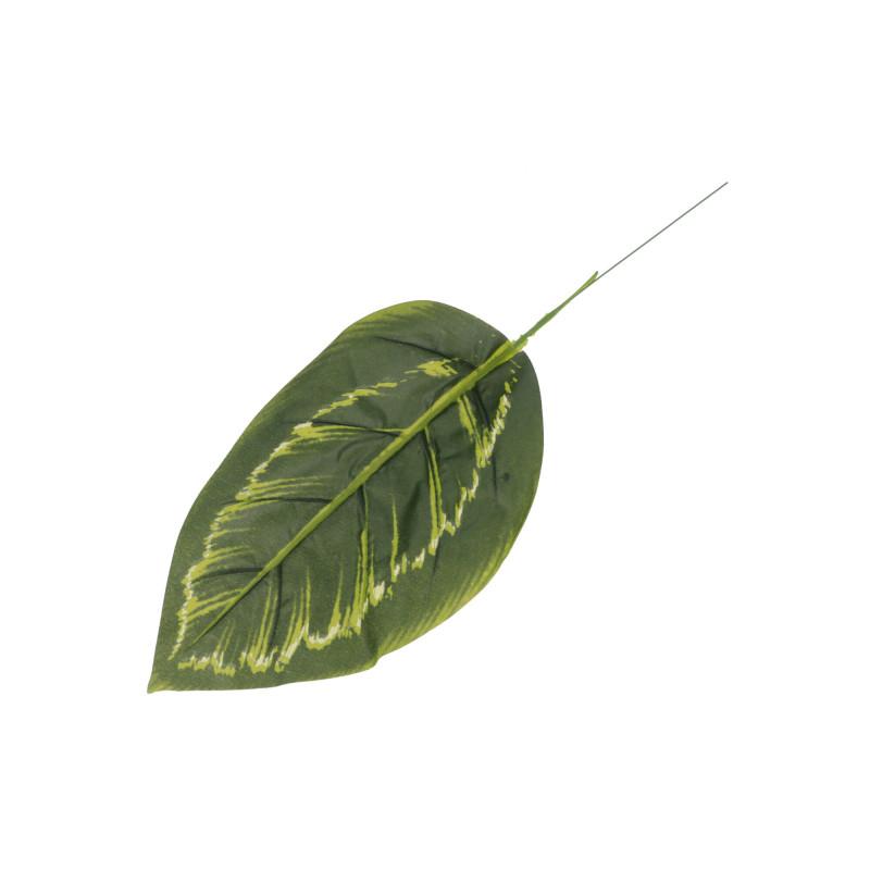 Kwiaty sztuczne liść difenbachia