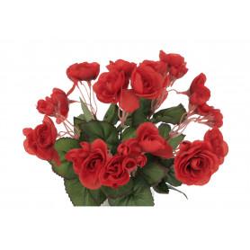 Kwiaty sztuczne Begonia bukiet