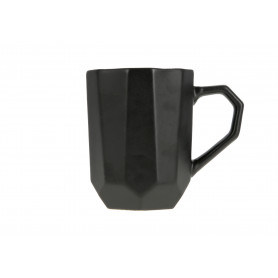 Ceramiczny kubek SALLY GEO black 320ml