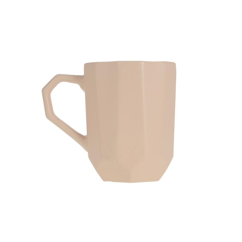 Ceramiczny kubek SALLY GEO pink 320ml