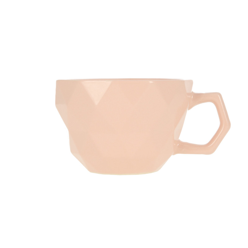 Ceramiczny kubek ADEL 400ml light pink