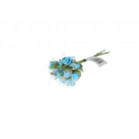 Kwiaty sztuczne pik różyczki pianka 11cm