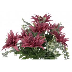 Kwiaty sztuczne bukiet dalia x13
