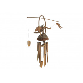 Drewno gong kaczka 30 cm