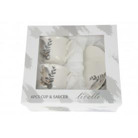 Ceramika filiżanka ze spodkiem 250 ml CR2261