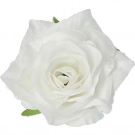 Główka Róży SCARLET (kwiaty sztuczne)