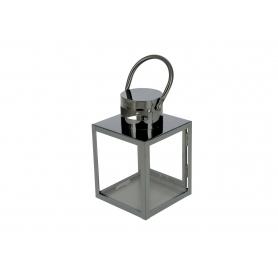 Metal Latarnia Leone Black  HTO0723