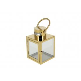 Metal Latarnia Leone Gold  HTO0716