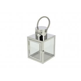 Metal latarnia Leone Silver  HTO0709