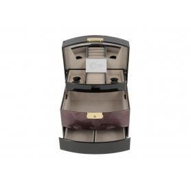 Drewniany kuferek na biżuterię  P028158