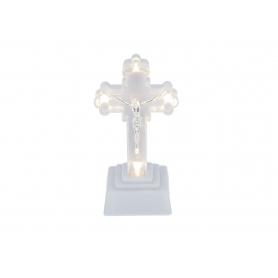 Krzyż led 17cm na baterie 9374