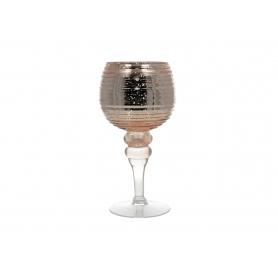 Świecznik szklany Donna  HTRL4593