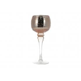 Świecznik szklany Donna HTRL4609