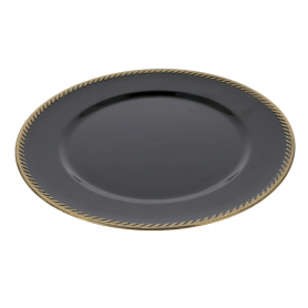 Podtalerz dekoracyjny Blannche Colours Czarny HTOS9918