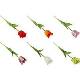 Tulipan gałązka gumowa 53998  2858