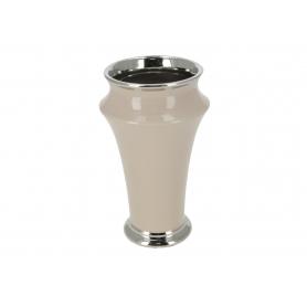 Ceramiczny wazon beżowy  38635