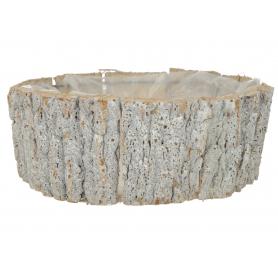 Drewniana osłonka z kory  1910204