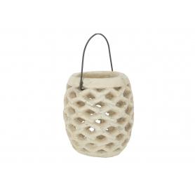 Ceramiczny lampion ażurowy 3417