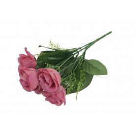 RÓŻE (bukiet:stelaż 5)-Kwiaty sztuczne